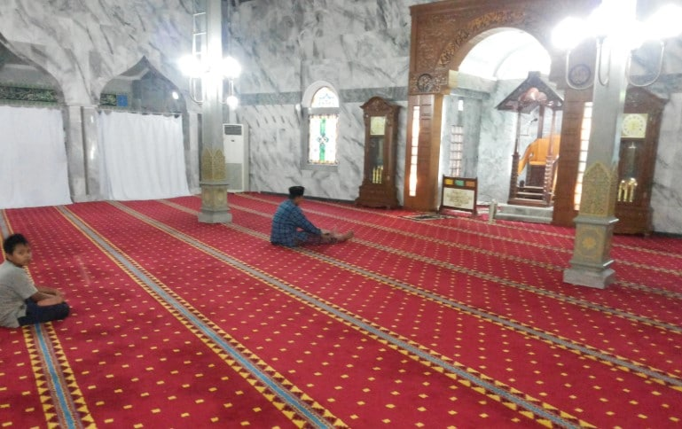Sentra karpet masjid turki di Depok harga tangan pertama